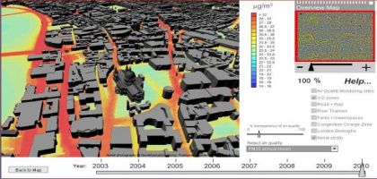 Visualiser la pollution automobile en 3D