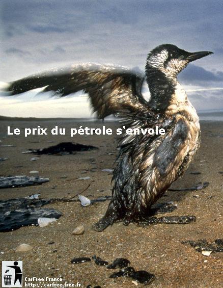 Le prix du pétrole s'envole