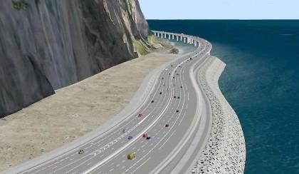 Pétition contre un projet pharaonique de route à La Réunion
