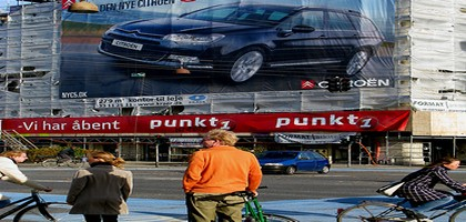 Ignorer la publicité automobile