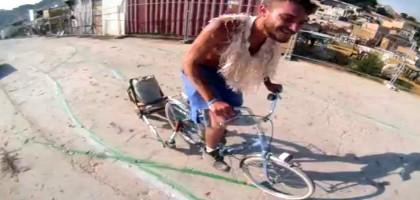 Rainbow bike, le vélo qui peint