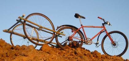 Construisez votre remorque de vélo en bambou