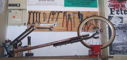 Fabriquer soi-même une remorque vélo monoroue