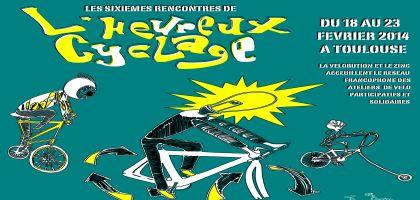 Les 6è rencontres de L'Heureux Cyclage auront lieu à Toulouse