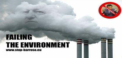 Pour l'environnement, virez José Manuel Barroso de la Commission européenne!