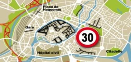 Vers le 30km/h généralisé en ville