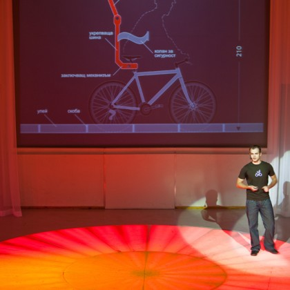 Présentation de Martin Angelov à la conférence TEDx dans la capitale bulgare, Sofia