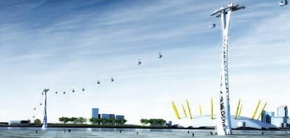 Londres va créer un téléphérique sur la Tamise