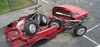 Transformer des voitures en vélos