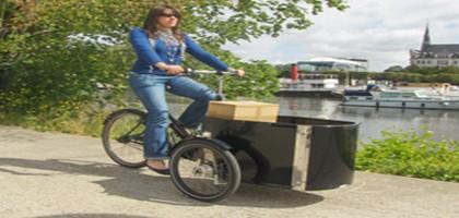 Nantes Métropole finance l'achat de vélos biporteurs et triporteurs