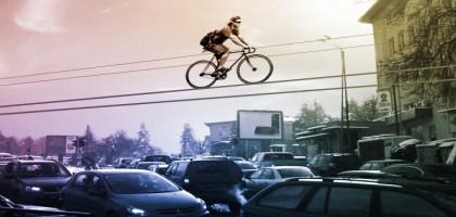 Et si les vélos volaient sur la ville ?