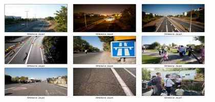 La «Voi(e)x est libre»: on marche sur l'autoroute