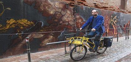 Plombier à vélo, c'est plus écolo !