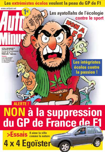 Auto Minus contre la suppression du Grand Prix de France de Formule 1 !