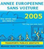 Année européenne sans voiture