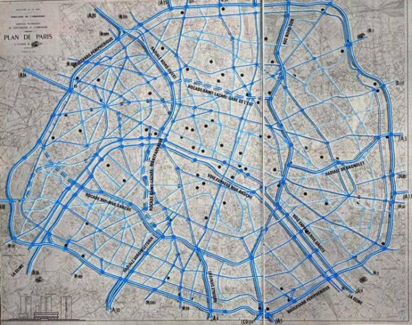 Projets autoroutiers dans Paris