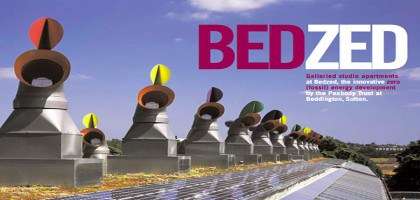 BedZed, un écoquartier durable au Sud de Londres