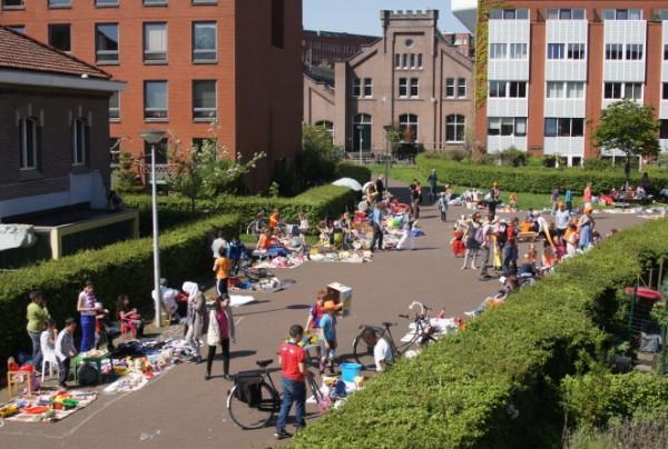 GWL Terrein: un quartier sans voitures à Amsterdam