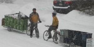 La vie sans voiture : je travaille avec mon vélo