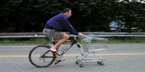 La vie sans voiture : le vélo pour faire les courses