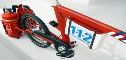 Les pompiers à vélo