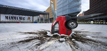 Le crash de la voiture électrique