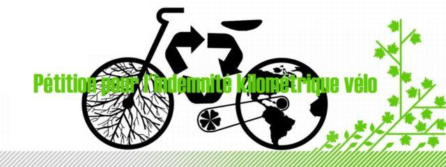 Pétition pour une indemnité kilométrique vélo de 0,25 euro/km