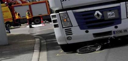 Exit le vélo, vive le camion!