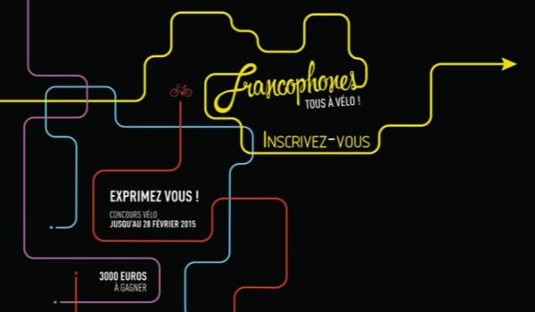 Francophones, tous à vélo !