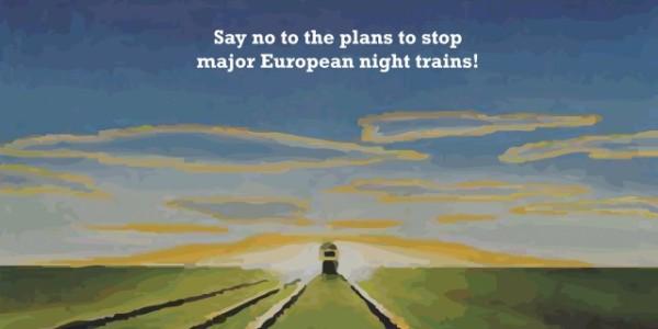 Sauvez les trains de nuit européens!