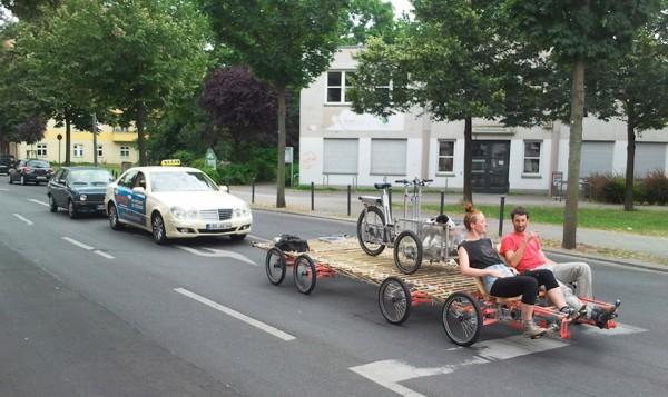 Fabuleux Un vélo-cargo à huit roues – carfree.fr TL55