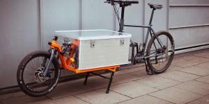 Vélo-cargo: la livraison à 2 roues