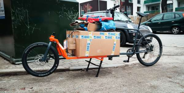 Favori Comment fabriquer son vélo-cargo – carfree.fr EY77