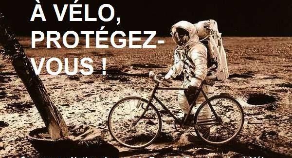 Campagne nationale pour le port du scaphandre à vélo