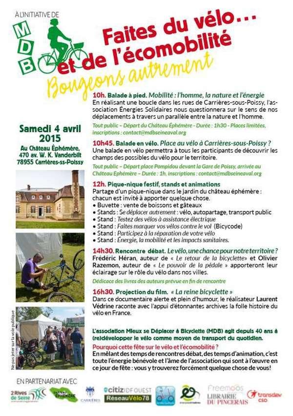 Faites du vélo… et de l'écomobilité