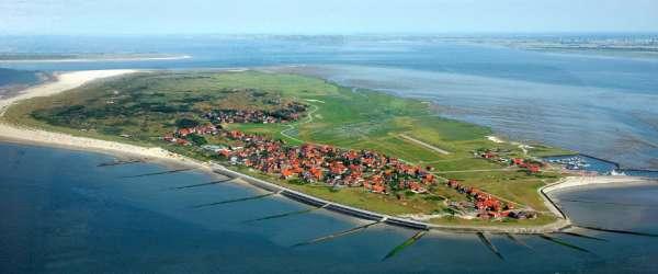 L'île de Baltrum sans voitures