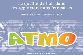 Bilan Atmo 2007: L'ozone et les particules en augmentation