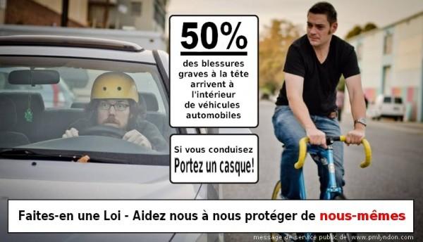 Vers le casque vélo obligatoire?