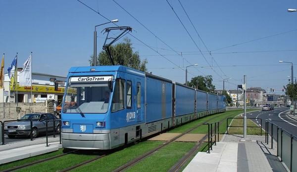 Des tramways de livraison en ville