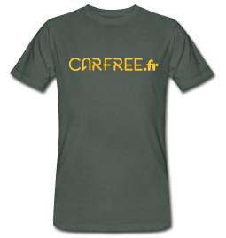 Offrez-vous le tee-shirt Carfree.fr