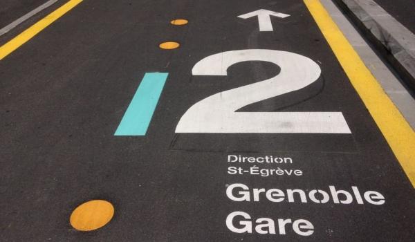 Chronovélo, le réseau cyclable express de Grenoble
