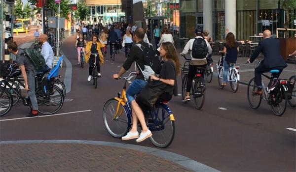 La piste cyclable la plus fréquentée des Pays-Bas