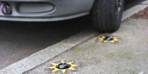 Une solution contre le stationnement automobile sur trottoir