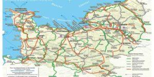 La Normandie sans voiture