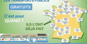Appel national pour la gratuité des transports publics locaux