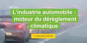 Les voitures construites par Renault et PSA en 2018 laisseront une empreinte carbone supérieure à celle de la France