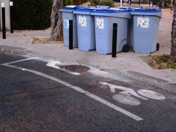Concourir au titre de plus petite piste cyclable de France?