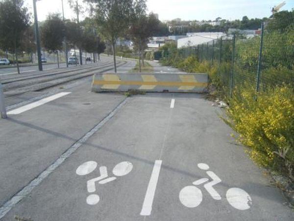 Indiquer la direction de la nature aux cyclistes