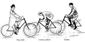 Homme libre, toujours tu chériras le vélo