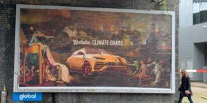 100 panneaux publicitaires contre l'automobile